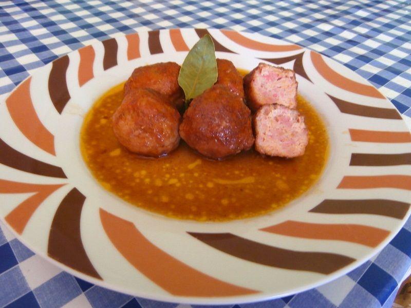 Albondigas en salsa espa ola recetas de cocina y comidas for Comidas caseras faciles
