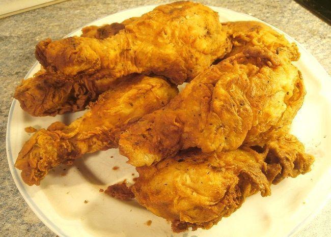 POLLO FRITO ESTILO KFC