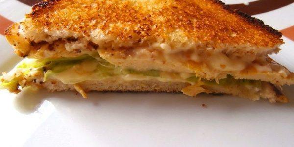 SANDWICH DE POLLO receta facil