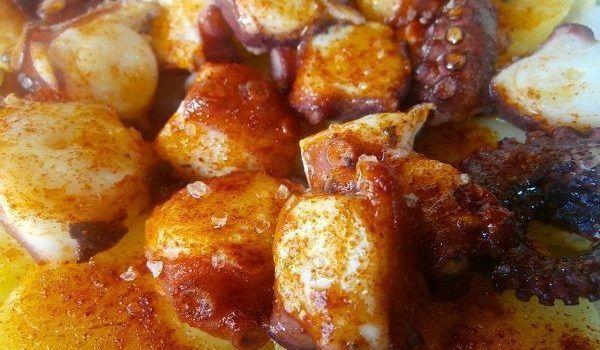 PULPO A FEIRA receta