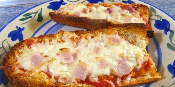 PANINI CASERO O PIZZA EN PAN DE BARRA