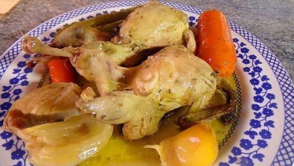 CODORNICES EN ESCABECHE receta