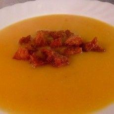CREMA DE CALABAZA receta
