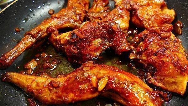 pollo al ajillo receta al horno