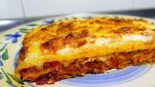 Lasa a de carne picada cocina casera y facil for Comidas rapidas de preparar