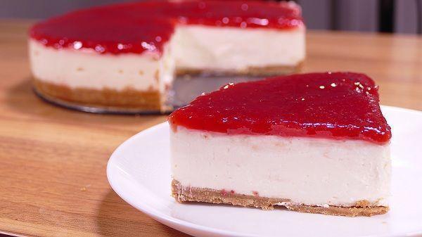La tarta de queso sin horno o fría es un clasico entre los clasicos de los postres. Es muy fácil de hacer y con muy pocos ingredientes