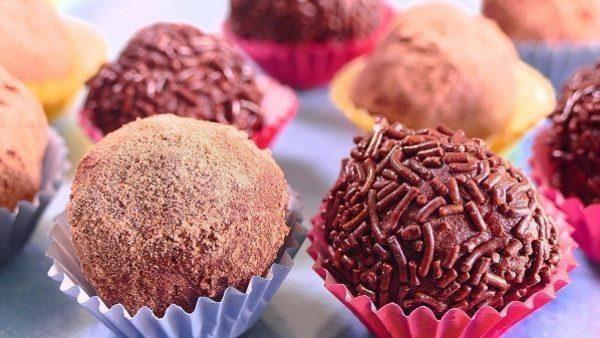 TRUFAS DE CHOCOLATE receta