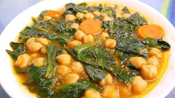 recetas de cocina espinacas