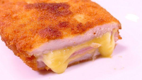 pechugas de pollo rellenas de jamon y queso