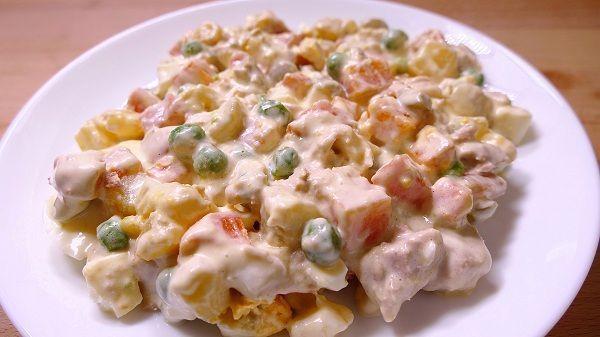 Ensaladilla rusa ingredientes y preparacion cocina - Como decorar una ensaladilla rusa ...