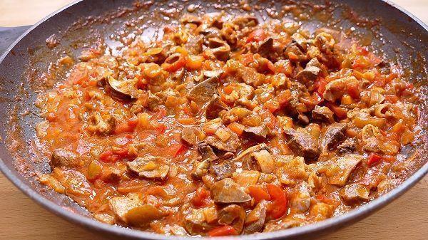 Asadurilla de cordero en salsa