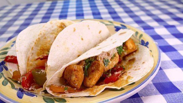 TACOS DE POLLO receta mexicana