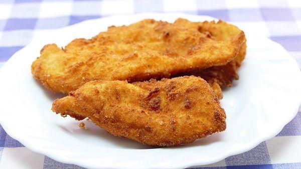 Como hacer pechugas de pollo rebozadas crujientes. Fáciles de hacer. Con esta técnica, obtendremos unas pechugas mucho más crujientes y jugosas que las convencionales