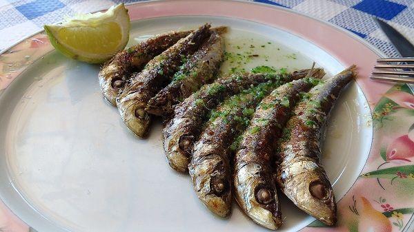 sardinas al horno con ajo y perejil
