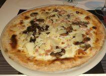 Pizza carbonara. Una de las recetas más famosas de la pizzas