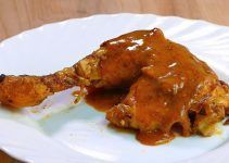 Pollo al horno asado al pimentón. Con limón. Una receta más para preparar esta popular carne de ave