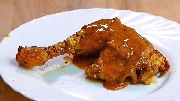 pollo al horno asado al pimenton