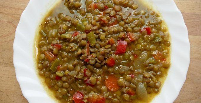 Recetas de cocina con huevos verduras y o patatas for Cocinar lentejas con verduras
