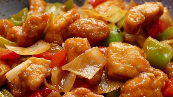 POLLO AGRIDULCE chino receta original