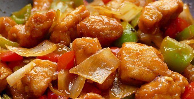 pollo agridulce chino. La receta original ahora, en tu casa