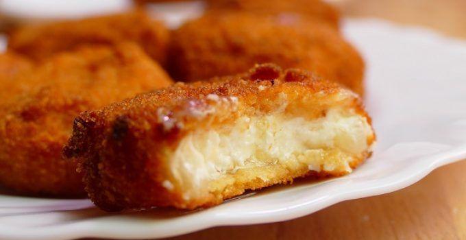 nuggets de queso de cabra receta facil de hacer