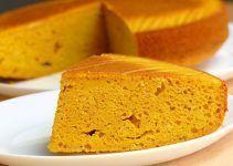 Bizcocho de zanahoria casero. Para preparar con el tu propio pastel de zanahoria o, para comerlo tal y como está