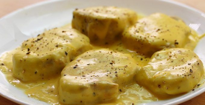 Cocinar Solomillo De Cerdo | Solomillo De Cerdo En Salsa De Queso Rapido Y Delicioso