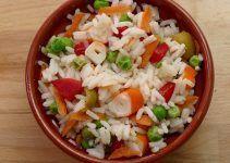 Ensalada de arroz. Una receta deliciosa y fresca