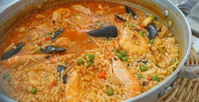 arroz caldoso de marisco.