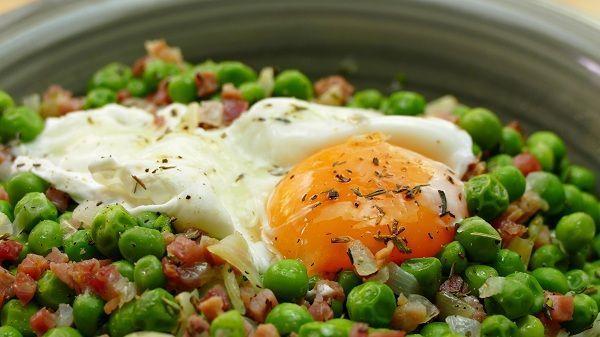 huevos escalfados receta