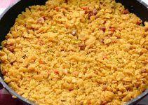 Migas de harina. Una receta andaluza hecha con harina, en lugar de con pan