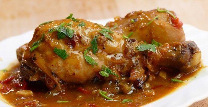 Pollo guisado en olla rapida. Una receta express para hacer este plato de abuela, en menos de la mitad de tiempo