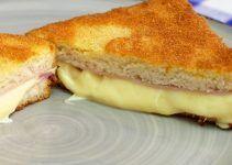 Sandwich empanado. Una manera diferente -y muy original- de preparar un sandwich