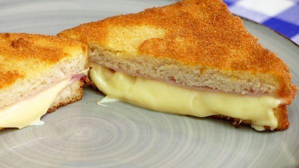 Sandwich empanado