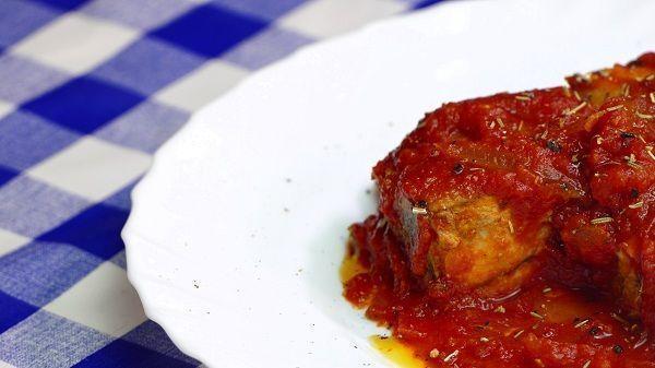 Atun con tomate receta