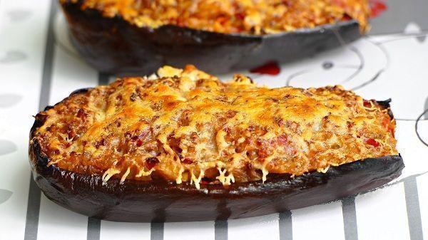 Berenjenas rellenas de verdura al horno recetas de cocina - Berenjenas rellenas al horno ...