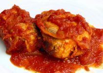 Bonito con tomate jugoso. Receta de toda la vida facil de hacer