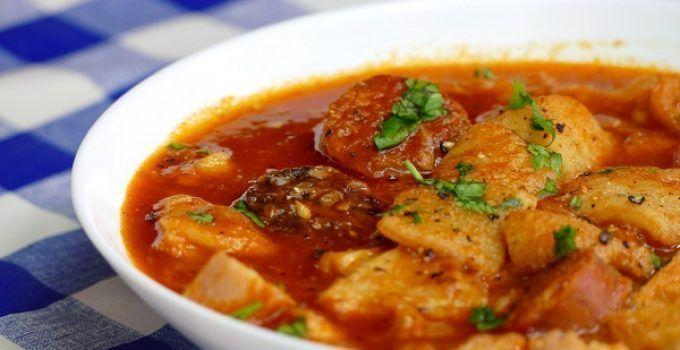 Callos a la madrileña. receta muy típica no sólo en Madrid si no, en todo el territorio español