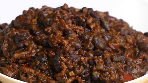 CHILI CON CARNE receta original