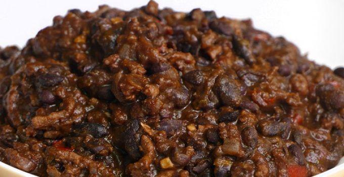 Chili con carne receta original americana. Un plato con mucha personalidad