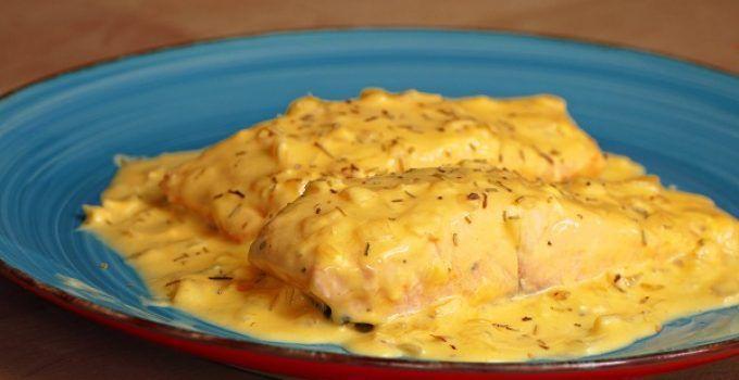 Salmon a la naranja. Receta facil para hacer en casa