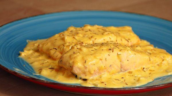 salmon a la naranja receta facil