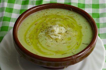 Crema de calabacín con quesitos. Una receta con esta verdura enriquecida por el sabor del queso