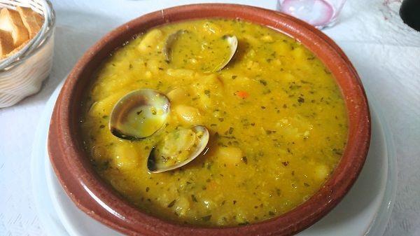 Fabes con almejas receta asturiana