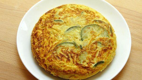 TORTILLA DE CALABACIN receta