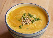 Crema de calabaza zanahoria y champiñones. Receta saludable y rica