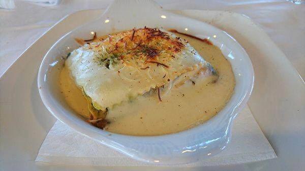 lasaña de atun y verduras