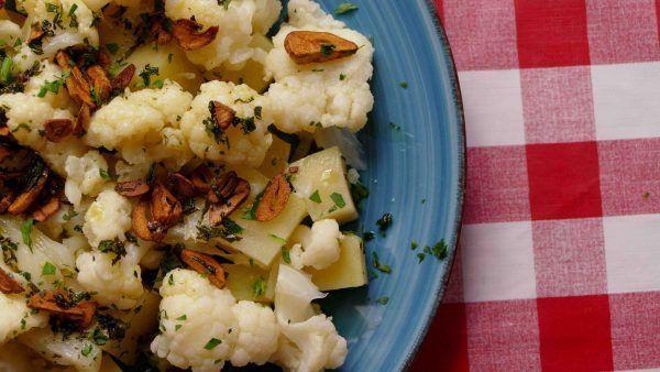 Coliflor Cocida Con Patatas