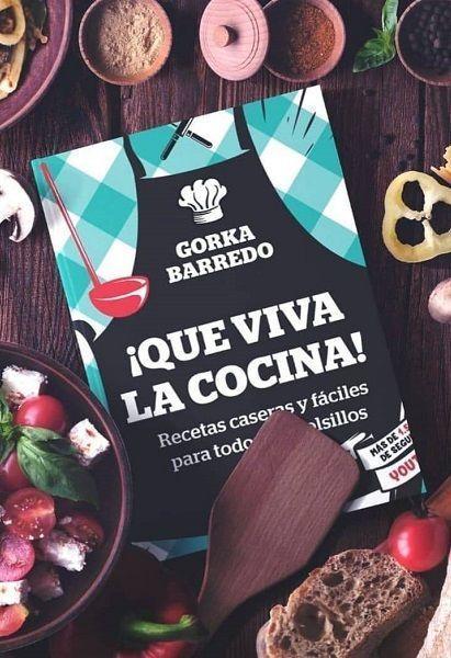 Gorka Barredo libro de cocina