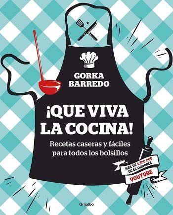 portada libro ¡Que Viva La Cocina!